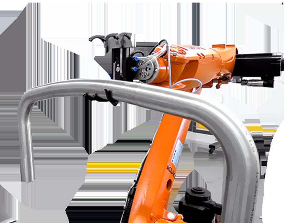Robot para Dobrar tubos - Robótica | ESI - Engenharia, soluções e inovação
