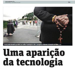 Uma aparição da Tecnologia - Metro Jornal