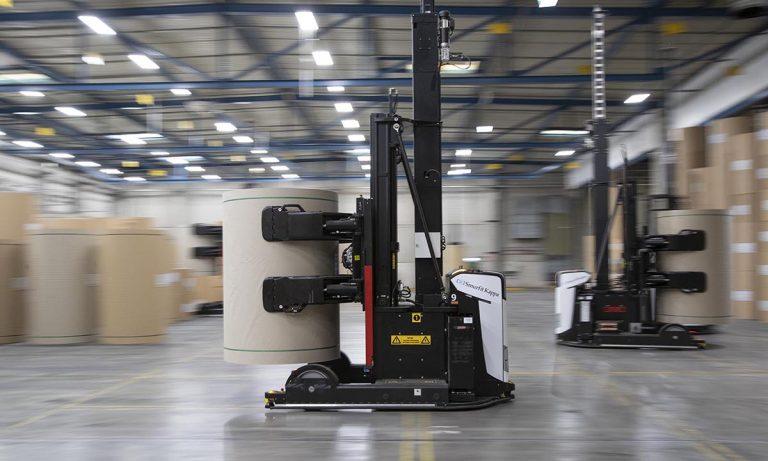 Robotica: AGV's Rocla | ESI - Engenharia, soluções e inovação